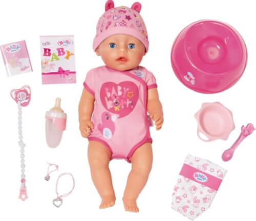 Zapf BABY born® Soft Touch Girl Blue Eyes