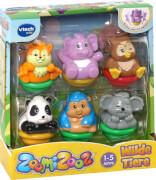 Vtech 80-439004 ZoomiZooz - 6er Set Wilde Tiere