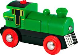 BRIO 33595000 Speedy Green Batterielok, Holz, Plastik und Kunststoff, ab 36 Monate - 8 Jahre