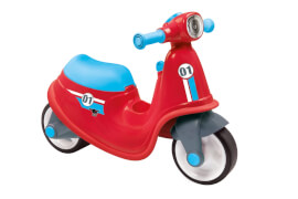 BIG Scooter Classic, Kunststoff, ca. 65x35x48 cm, 18 Monate - 3 Jahre, rot
