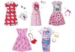 Mattel FKR66 Barbie Komplettes Outfit Lizenzen, sortiert