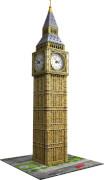 Ravensburger 125869 Puzzle 3D: Big Ben mit Uhr, 216 Teile