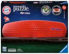 Ravensburger 12530 Puzzle 3D Allianz Arena Night Edition Teile 216 Teile