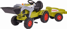 BIG-Claas Celtis Loader mit Trailer