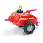 rollyFire mit Spritze und Pumpe Tretauto rot
