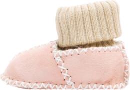 Fillikid Baby Lammfell Schuhe, rosa, Gr. 19/20
